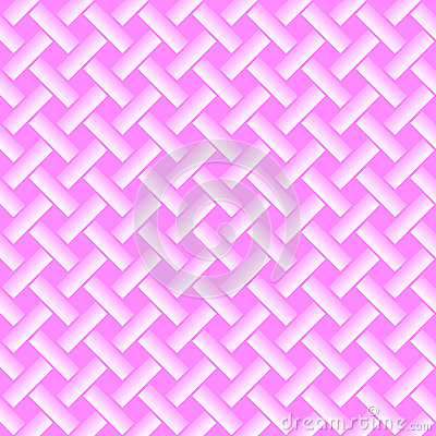 Seamless crossed pink lines background