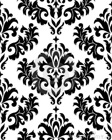 Free Seamless Damask Pattern Royalty Free Stock Images - 10401699