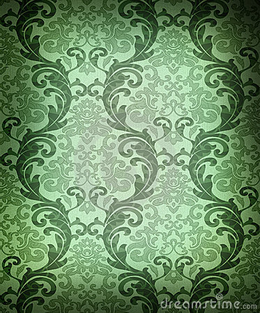 gallery for green damask background