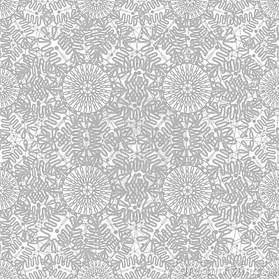 Seamless decorative  lace ornament