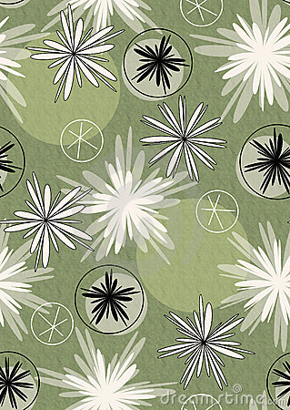 Seamless design wrapping paper