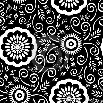 Free Seamless Detailed Wallpaper Pattern Stock Photography - 1586052