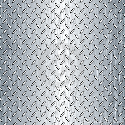 Free Seamless Diamond Plate Texture Stock Photos - 16763943