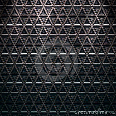Seamless diamond steel background