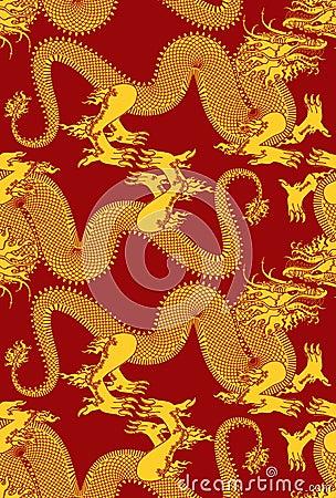 Seamless Dragons