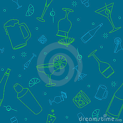 Free Seamless Drink Background Stock Photo - 16448100