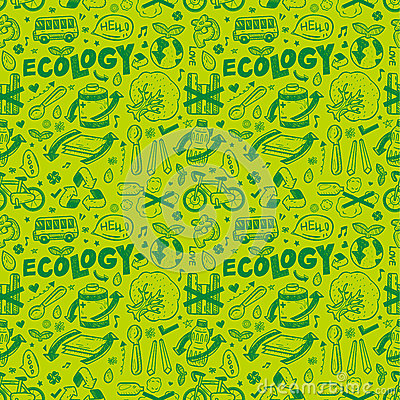 Seamless ecology pattern