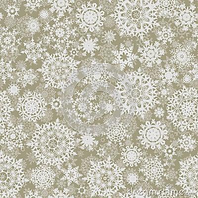 Seamless elegant christmas texture patter
