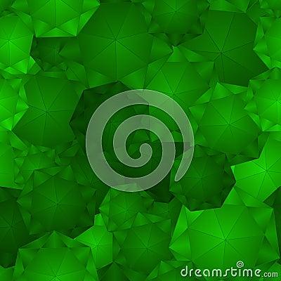 Seamless Emerald Pattern