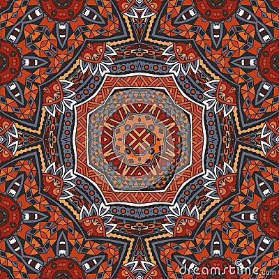 Free Seamless Ethnic Geometric Pattern Stock Photos - 77909563