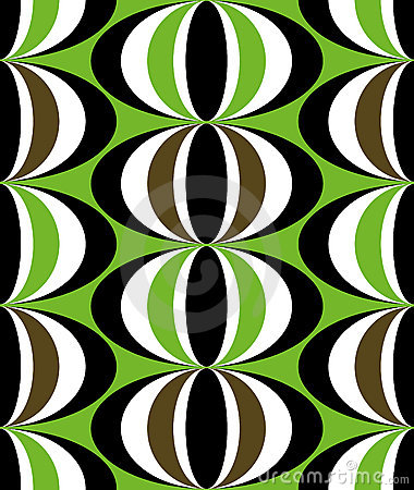 Seamless ethnic tribal design