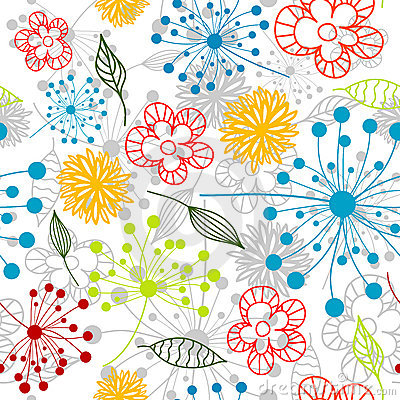 Seamless floral pattern,