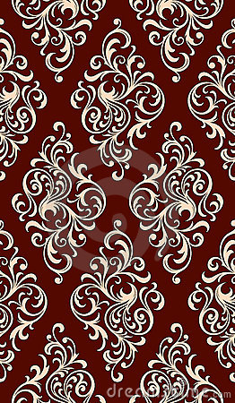 Free Seamless Floral Pattern Royalty Free Stock Image - 5282106