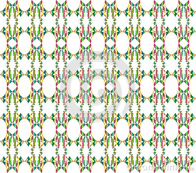 Seamless floral pattern illustration background
