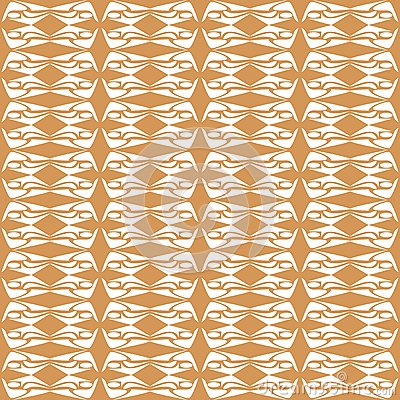 Seamless Floral Pattern orange pattern