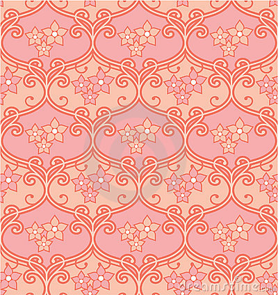 Seamless Floral Tile