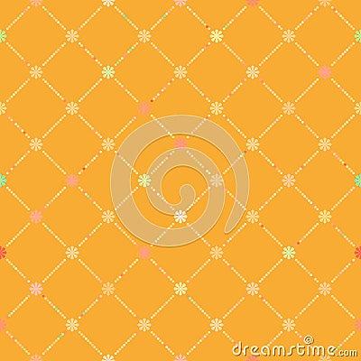 Seamless flower pattern. EPS 8