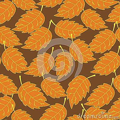 Seamless foliage pattern