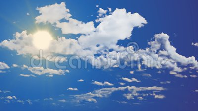 Seamless footage video of bright sunny day blue sky. Good weather. Seamless footage HD video of bright sunny day blue sky. Good weather stock video