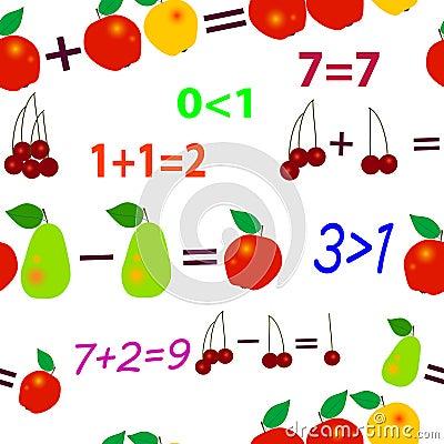 Seamless fruit mathematics