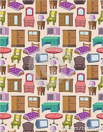 Seamless furniture pattern