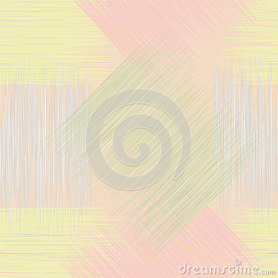 Seamless geometric checkered grunge striped patter