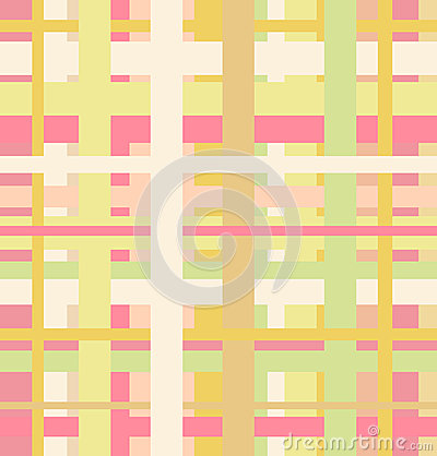 Seamless geometric linear pattern