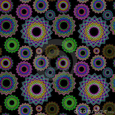 Seamless geometric pattern extended 2