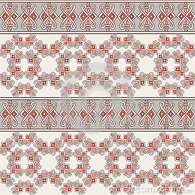Seamless Geometric Pattern Tile