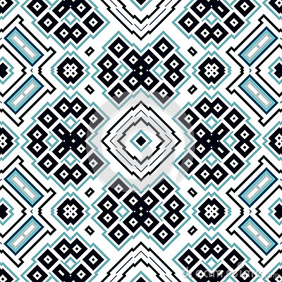Free Seamless Geometric Pattern With Squares And Rectangles Royalty Free Stock Photos - 48294608