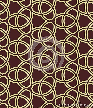 Seamless Geometric Vector Background Vector Illustration