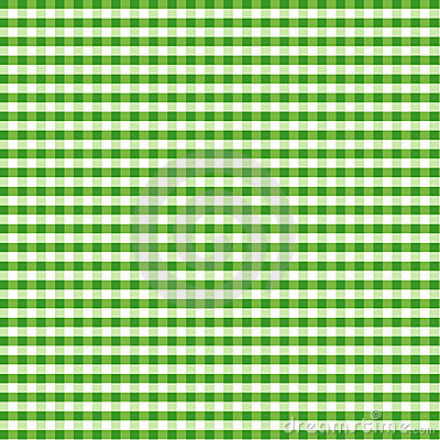 Seamless Gingham, Green