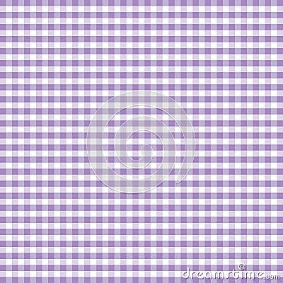 Seamless Gingham, Lavender