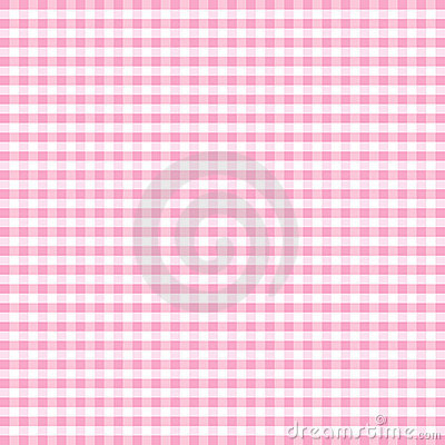 Free Seamless Gingham, Pastel Pink Stock Photography - 5712922