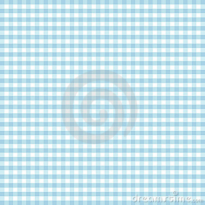 Seamless Gingham, Turquoise