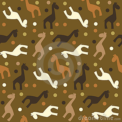 Seamless Giraffe pattern