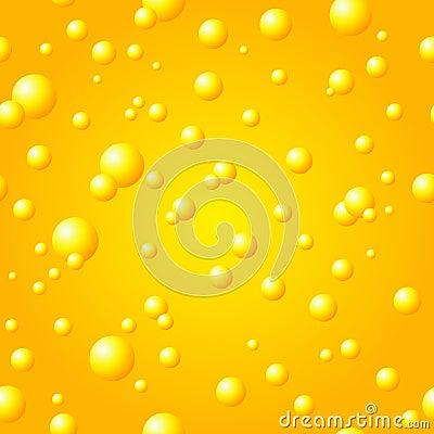 Free Seamless Gold Bubble Pattern Royalty Free Stock Photo - 12861755