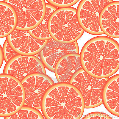 Seamless grapefruit