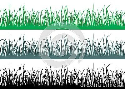 Seamless grass pattern