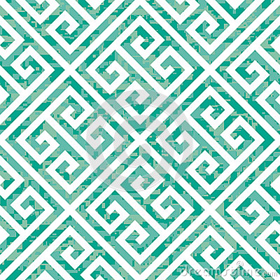 Free Seamless Greek Key Background Pattern In Three Color Variations Stock Image - 29722091