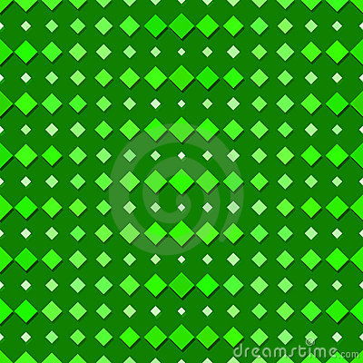 Seamless Green Diamond Pattern