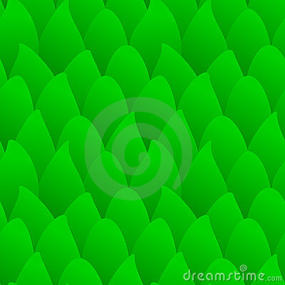 Seamless green forest