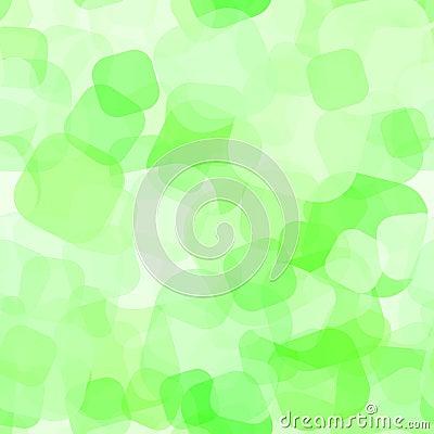 Seamless Green Spot Pattern