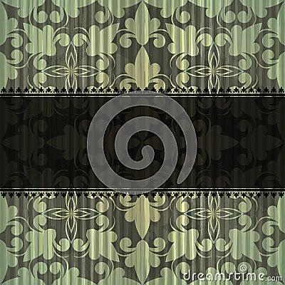 Seamless grungy vintage pattern