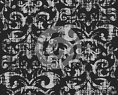 Seamless Grungy Wallpaper Pattern