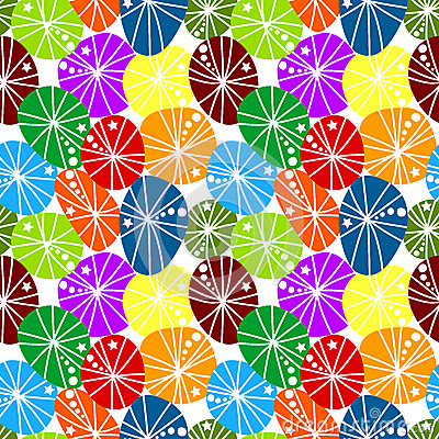 Seamless gum candies background