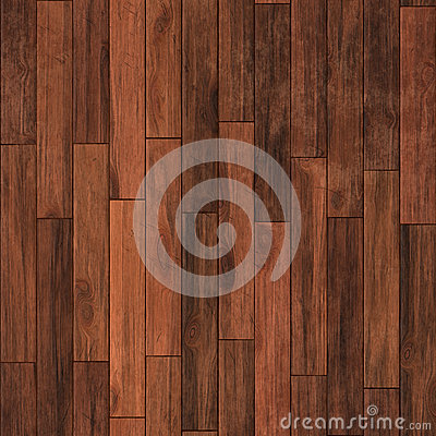 Seamless hardwood floor