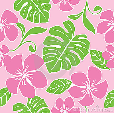 Free Seamless Hawaii Summer Pattern Royalty Free Stock Photo - 9281565