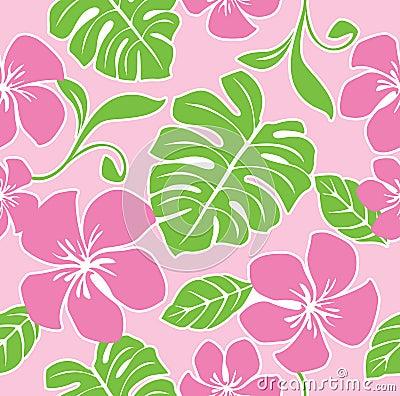 Seamless Hawaii Summer Pattern