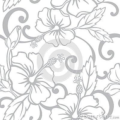 Free Seamless Hawaiian Wedding Pattern Stock Photo - 16736030